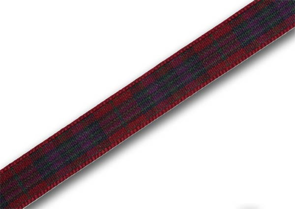 "Autumn Pride Tartan Ribbon 10mm (3/8"") x 5m (5½yd) top-up pack - Click Image to Close"