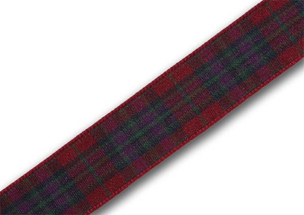"Autumn Pride Tartan Ribbon 16mm (5/8"") x 5m (5½yd) top-up pack"