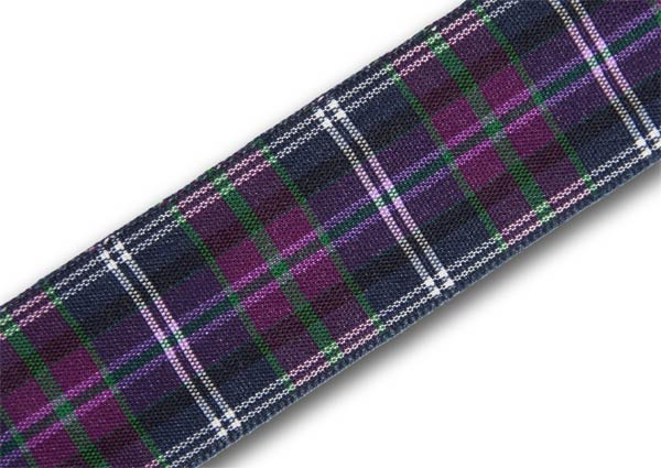 "Pride of Scotland (alt.) Tartan Ribbon 25mm (1"") x 25m (27½yd)"