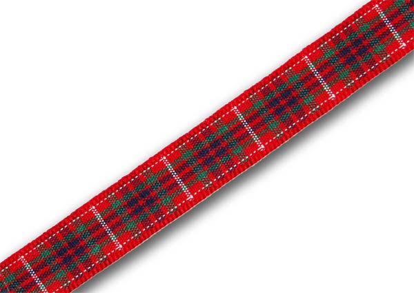 *CLEARANCE* Fraser Tartan Ribbon 10mm x 20m (22½yd)