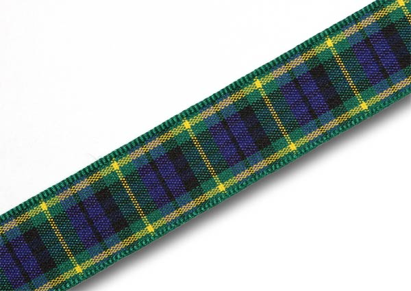 "Gordon Tartan Ribbon 16mm (5/8"") x 25m (27½yd)"