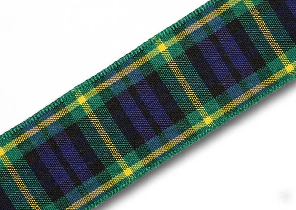 "Gordon Tartan Ribbon 25mm (1"") x 25m (27½yd)"