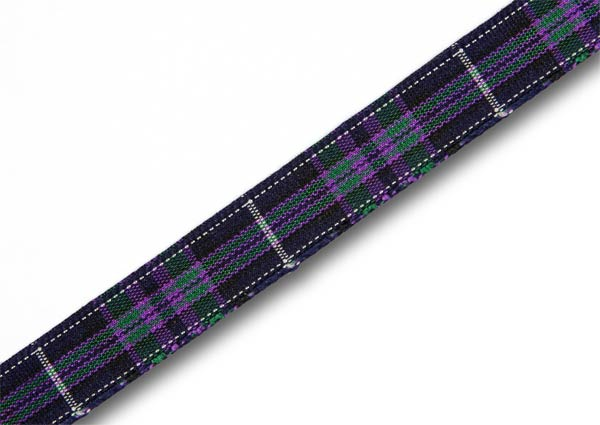"Pride of Scotland Highland Tartan Ribbon 10mm (3/8"") x 25m"