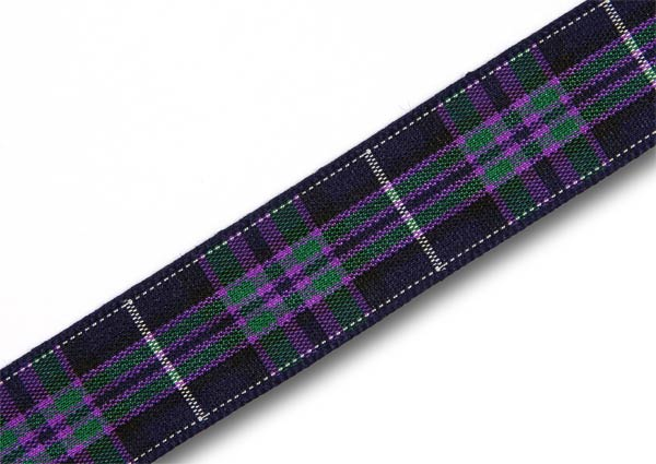 "Pride of Scotland Highland Tartan Ribbon 16mm (5/8"") x 25m"