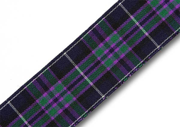 "Pride of Scotland Highland Tartan Ribbon 25mm (1"") x 25m (27½yd)"