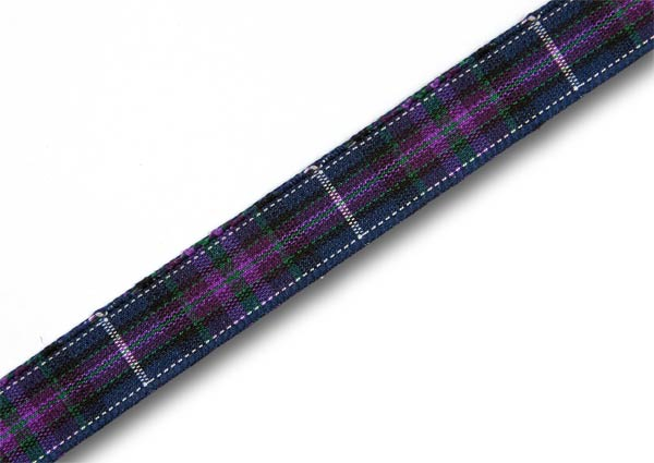 "Pride of Scotland Modern Tartan Ribbon 10mm (3/8"") x 25m (27½yd)"