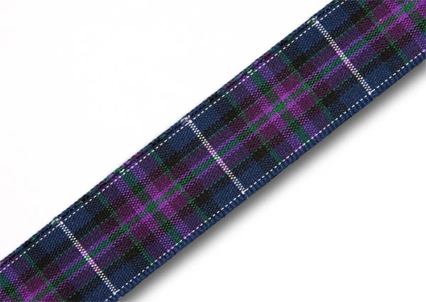 "Pride of Scotland Modern Tartan Ribbon 16mm (5/8"") x 25m (27½yd)"