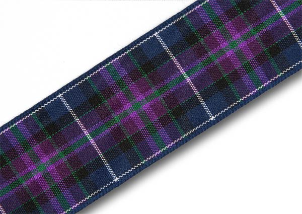"Pride of Scotland Modern Tartan Ribbon 25mm (1"") x 25m (27½yd)"