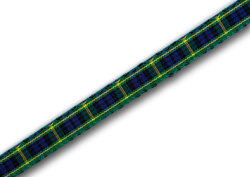 "Gordon Tartan Ribbon 7mm (1/4"") x 25m (27½yd)"