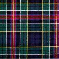 "ALLISON Mod. Wool Plaid Tartan Ribbon 10 x 54"" strips x 4"" width"