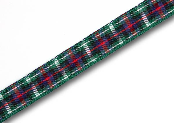"*CLEARANCE* MacKenzie Tartan Ribbon 7mm (1/4"") x 20m (22½yd)"